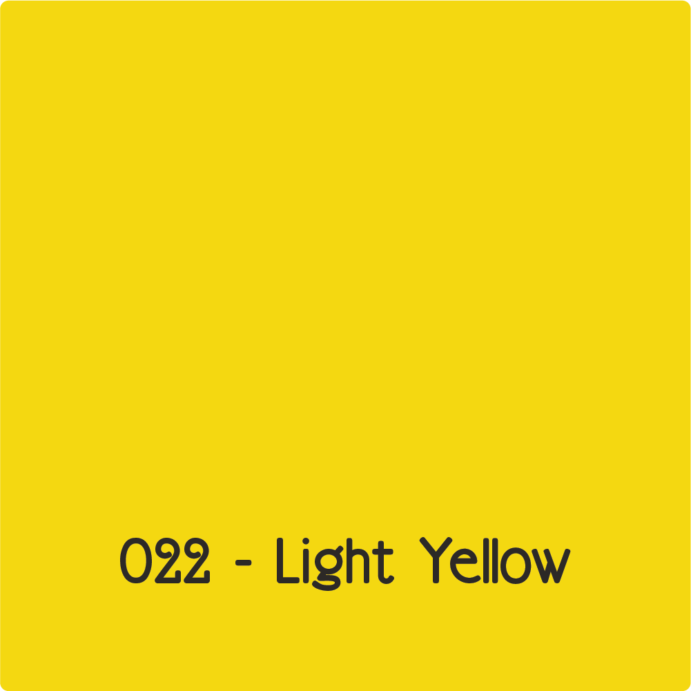 Oracal 651 - Light Yellow