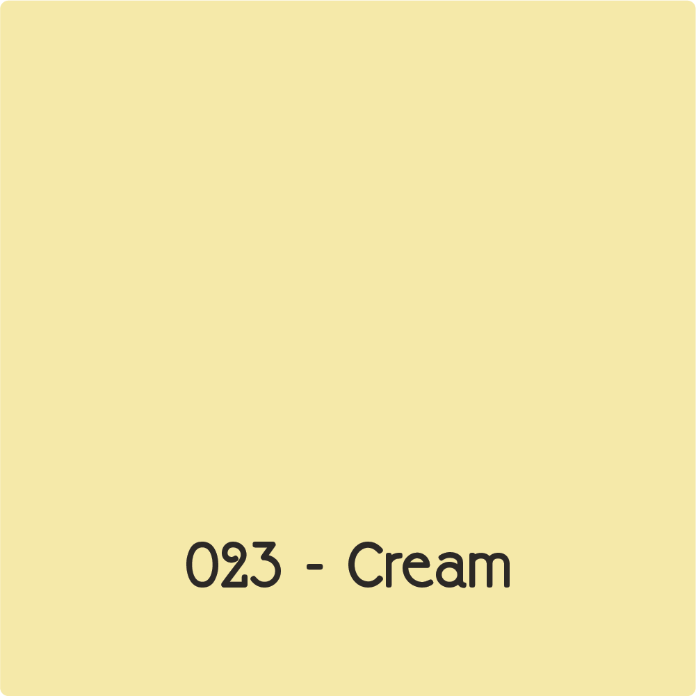 Oracal 651 - Cream