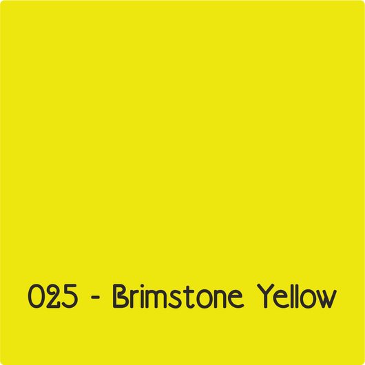 Oracal 651 - Brimstone Yellow