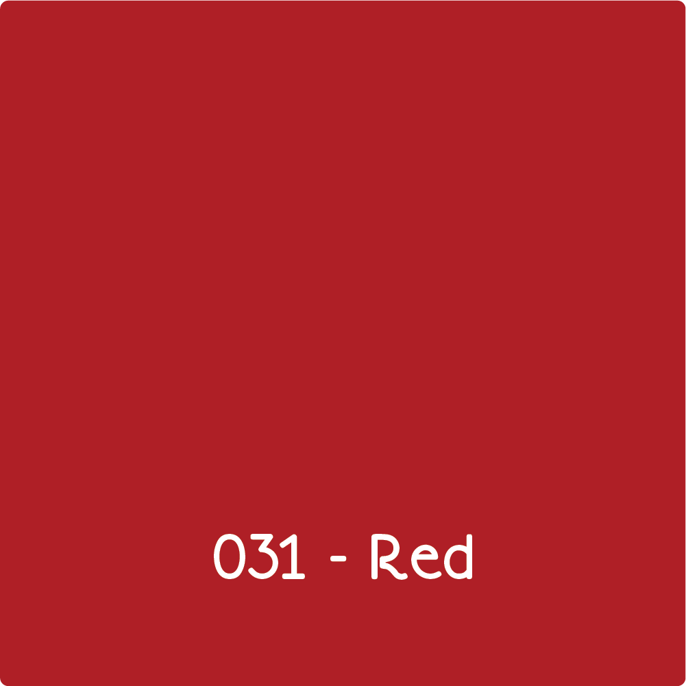 Oracal 651 - Red