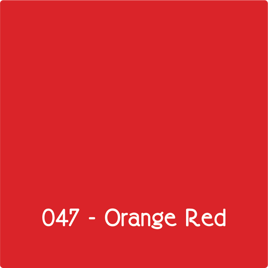 Oracal 651 - Orange Red