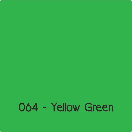Oracal 651 - Yellow Green
