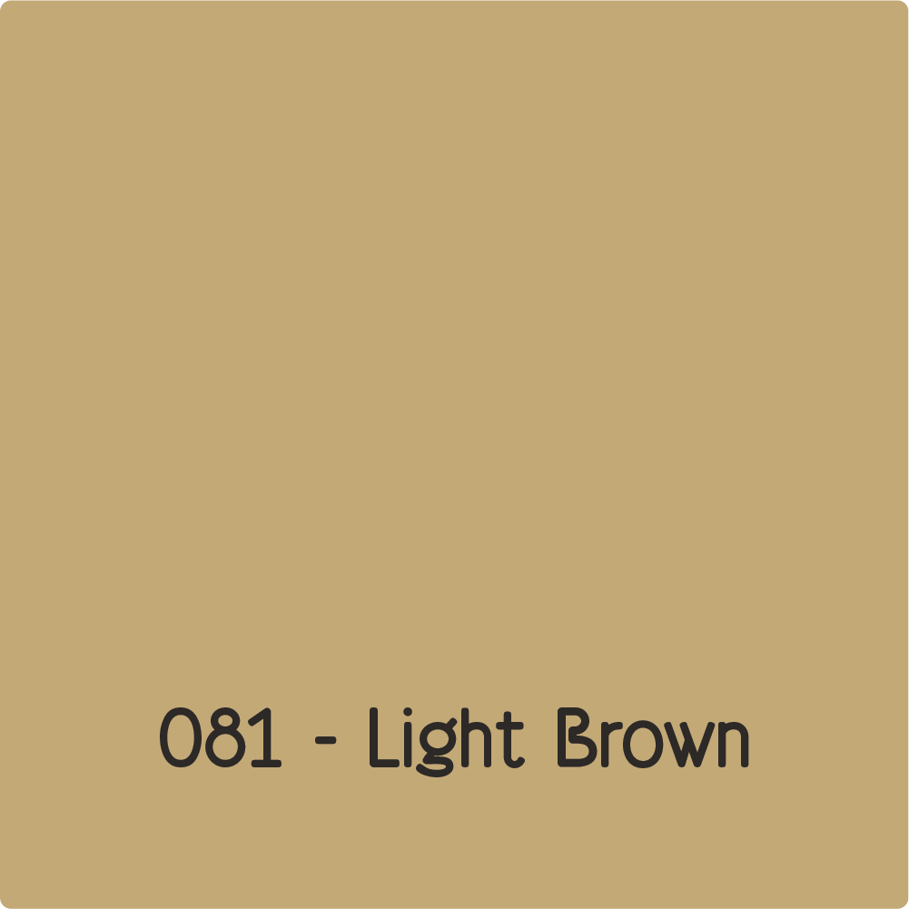 Oracal 651 - Light Brown