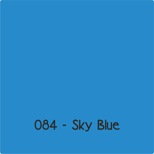 Oracal 651 - Sky Blue