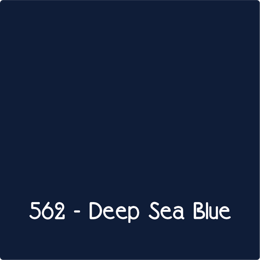 Oracal 651 - Deep Sea Blue