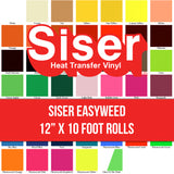 "EasyWeed HTV Roll 12"" x 10 Feet"