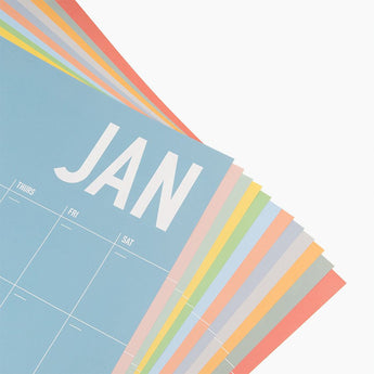 Colorful Wall Planner