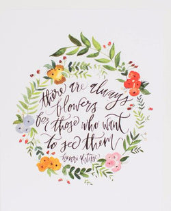henri matisse flowers quote wall art print