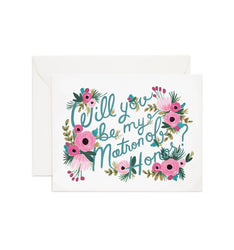matron of honor greeting card rifle paper co