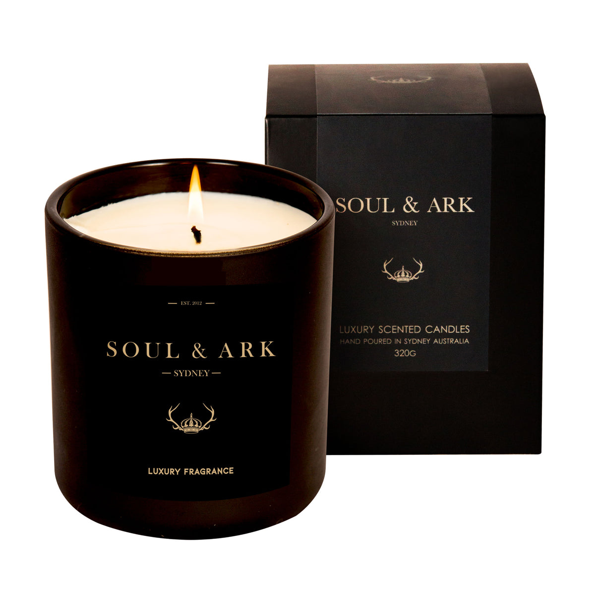 Black Matt Soy Candle