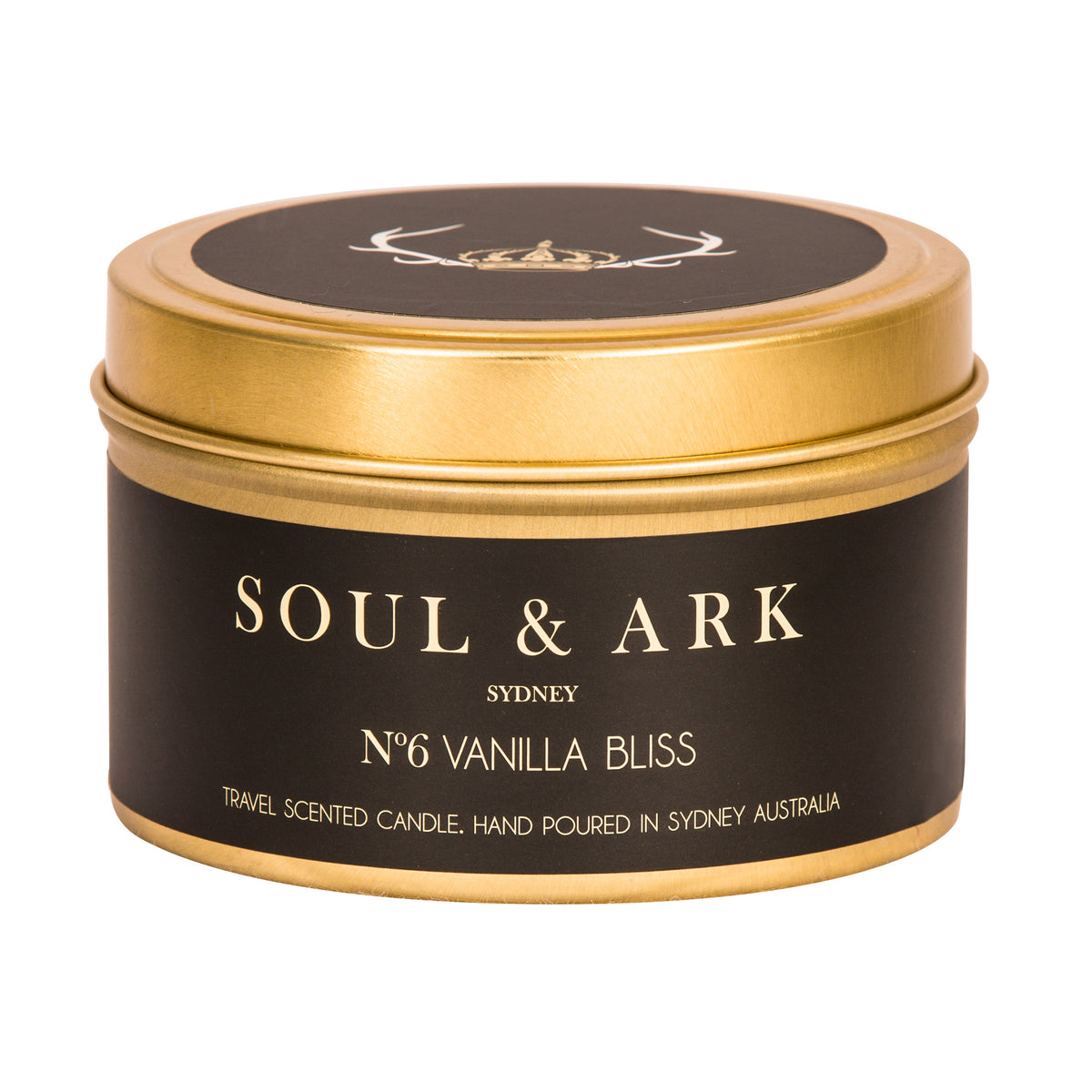 Soul & Ark Travel Tin Soy Candle