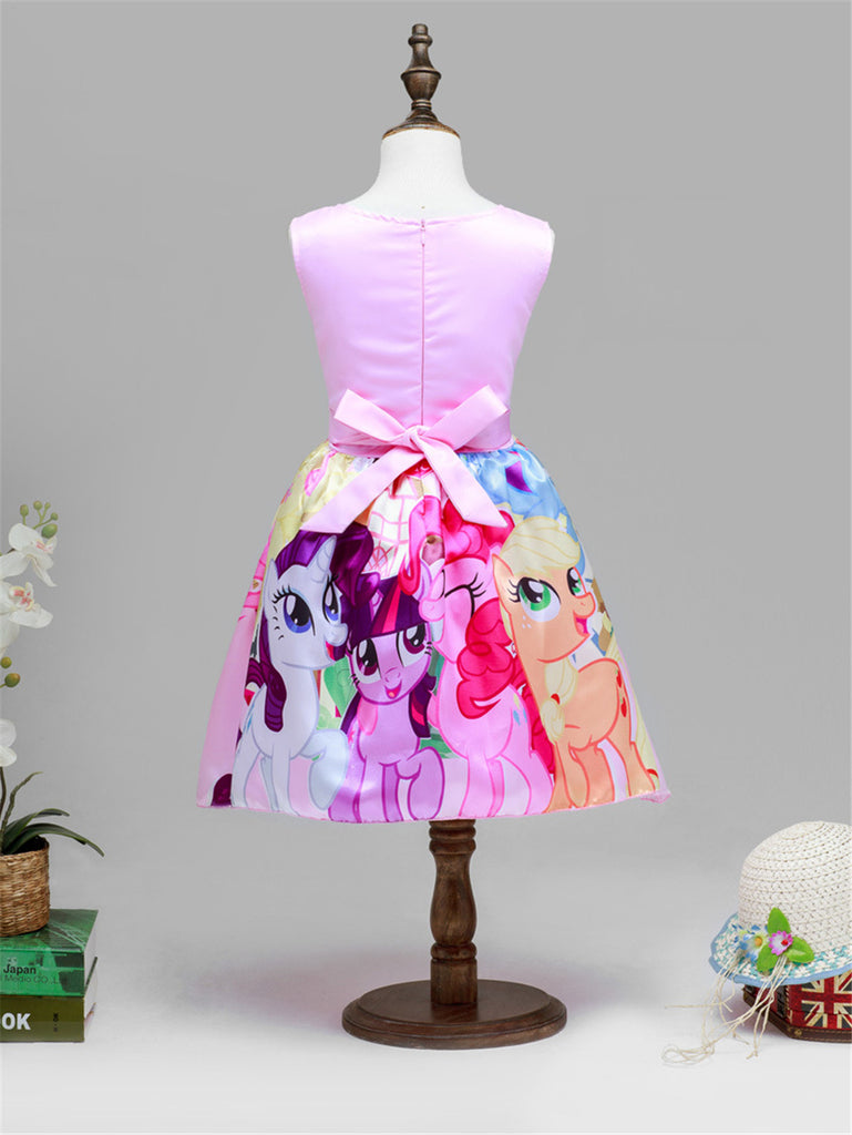 My Little Girls Pony Flower Party Dresses 50% OFF! – DoMall