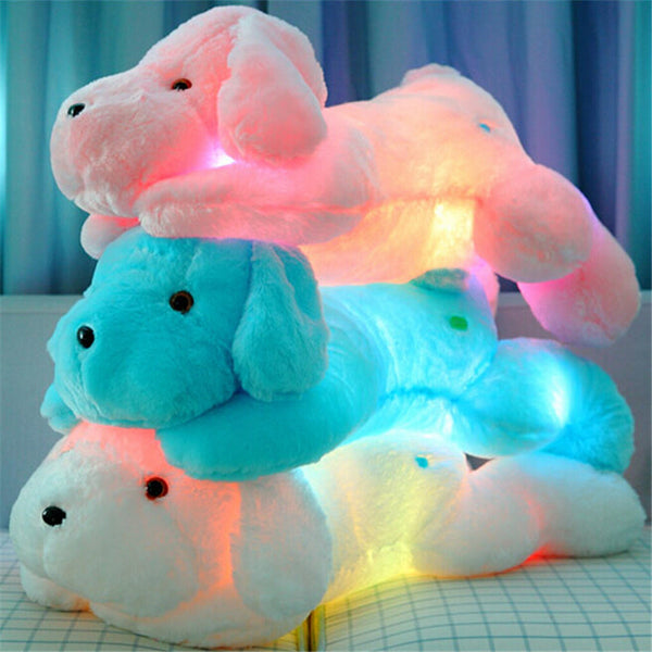 Creative Night Light LED Lovely Dog Stuffed.