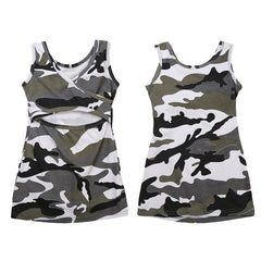 Princess Camouflage Sleeveless Clothes