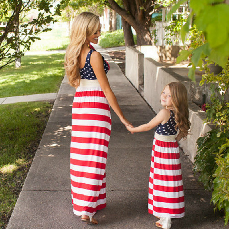 4th July Matching Dress. 60% OFF