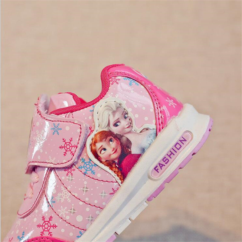 Shining Frozen Princess Sneakers!!! 2 Colours Available!!! 60% OFF!!!
