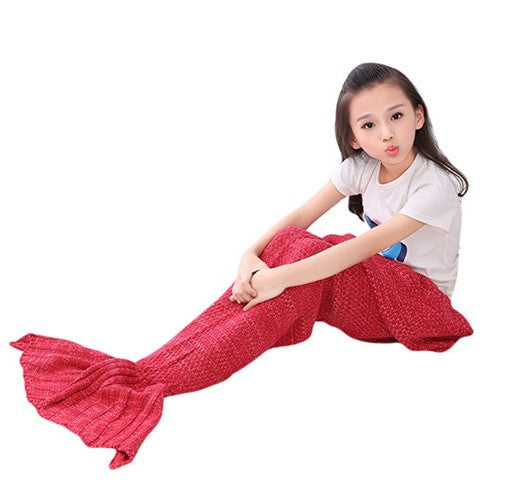 KIDS MERMAID BLANKET