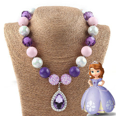 Princess Sofia the First Kids Necklace.  70% OFF