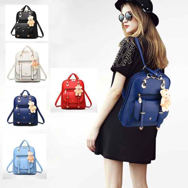 Stylish Backpack With Bear!! 50% OFF!!!