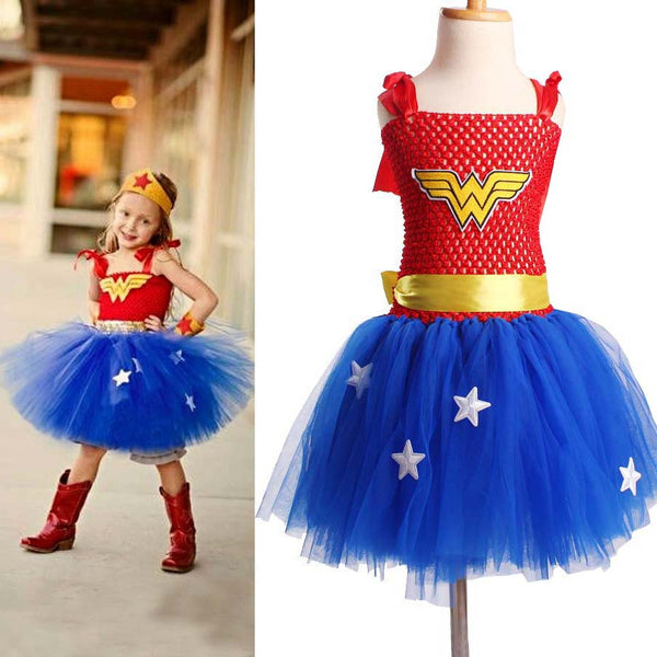 Superhero Girl Tutu Dress!!! 50% OFF!!