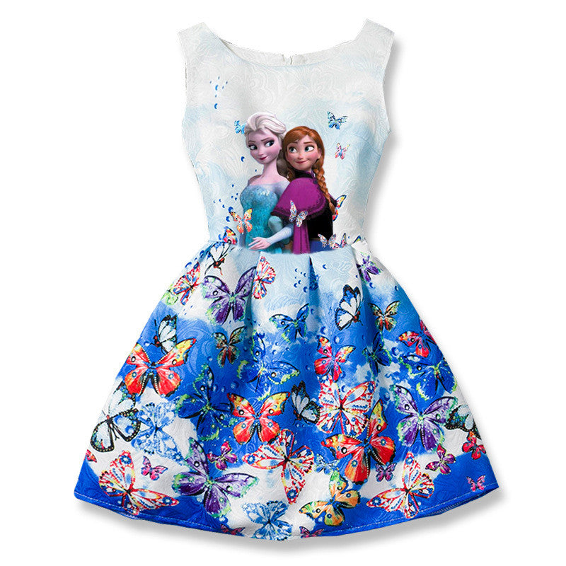 Anna Elsa Princess Party Dress. 55% OFF