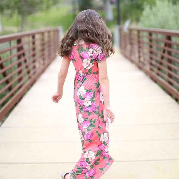 Floral Maxi Casual Long Dress!!! 2 Types Available!!! 60% OFF!!!