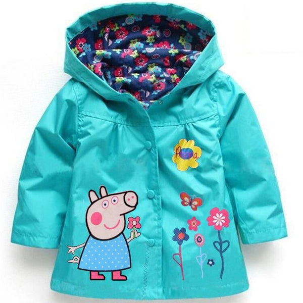 Spring Autumn Cartoon Waterproof Children's Raincoat. 60% OFF!!