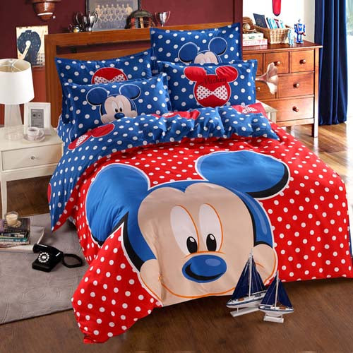Mickey Duvet Cover Set. 50% OFF
