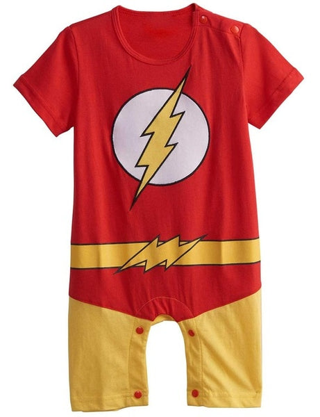 Comfortable Toddler Superhero Romper with Cape!! 60% OFF!!