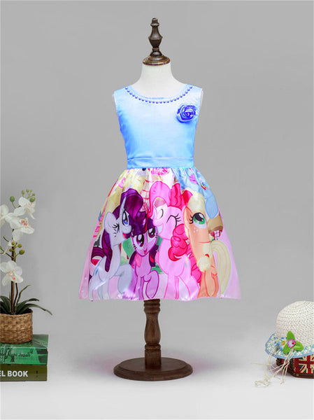 My Little Girls Pony Flower Party Dresses 50% OFF!