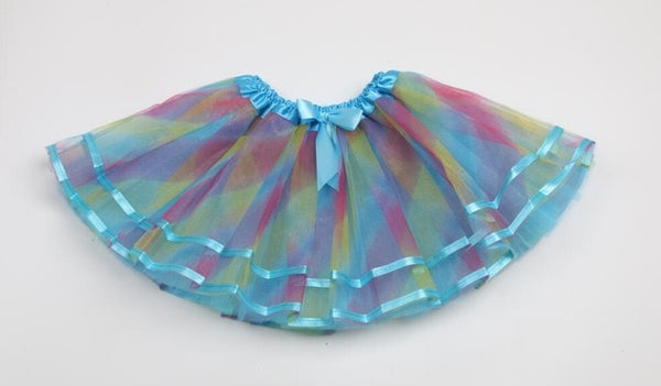 Cute Summer Children Party Ribbon Tulle Skirts!! FREE SHIPPING!!!