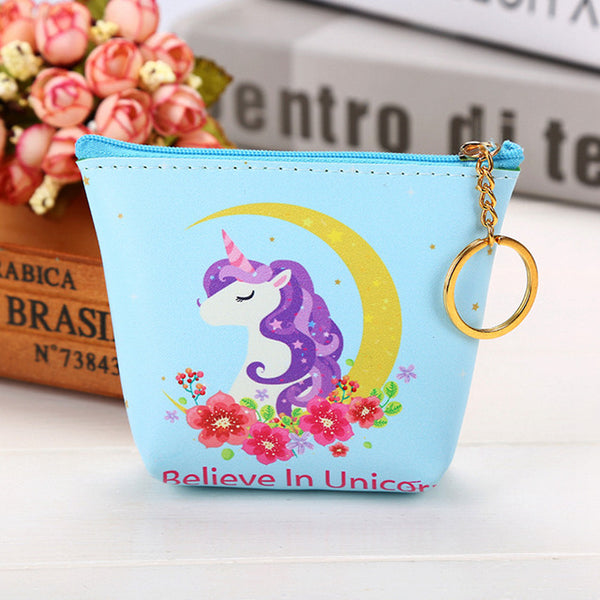 Cute Unicorn Coin Purses Holder!! 4 Styles Available!!