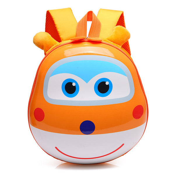 3D Super Wings Cute Kid School Backpack!!!