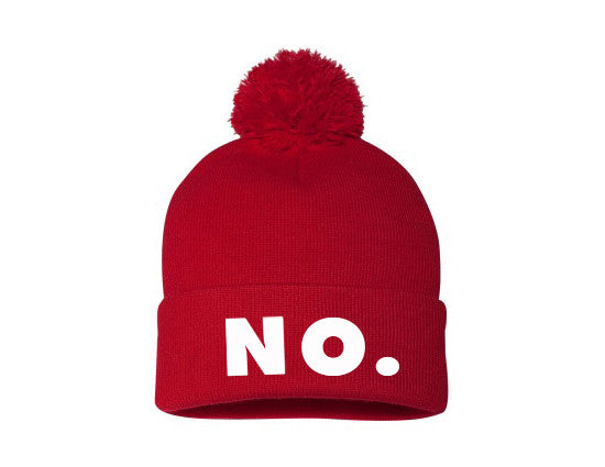 DYNASTY: NO. - Visualize Resistance, Protest fashion - Hat, Beanie / Designed by Elizabeth Azen
