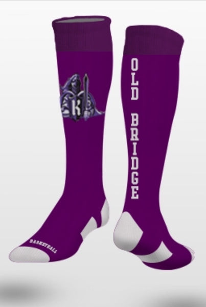 OLD BRIDGE Over-The-Calf Performance Sock