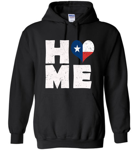 HOME TX FLAG (DESIGN ON FRONT) - Hoodie