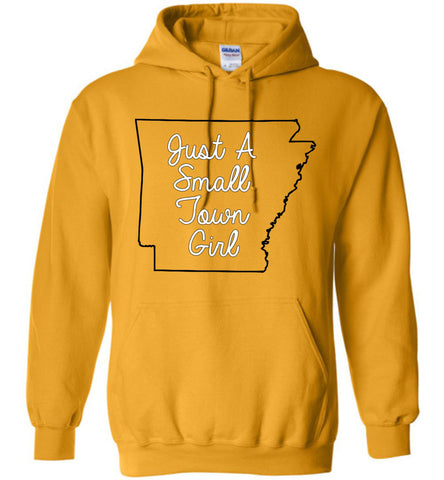 Just a Small Town Girl AR - Hoodie