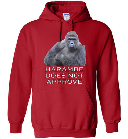 Harambe Does Not Approve - Hoodie