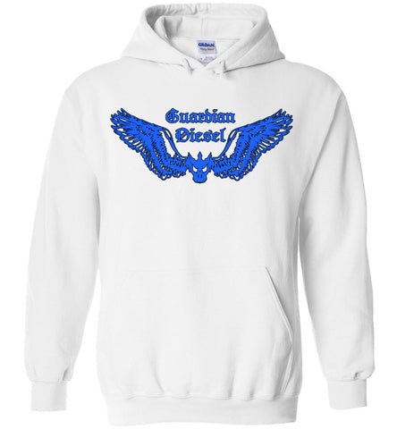 GUARDIAN DIESEL (DESIGN ON FRT) - Blue - Hoodie
