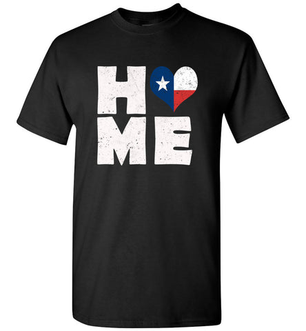 HOME TX FLAG (DESIGN ON FRONT) - Tee