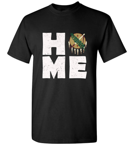 HOME OK FLAG (DESIGN ON FRONT) - Tee