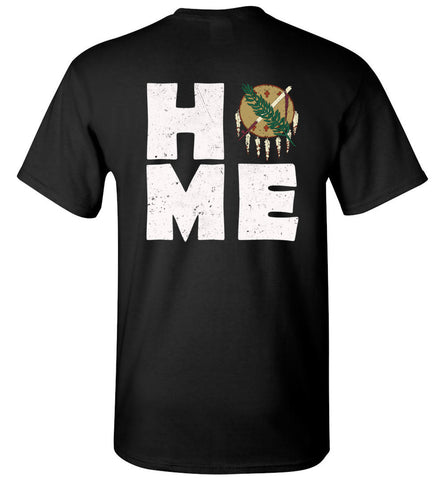 HOME OK FLAG (DESIGN ON BACK) - Tee