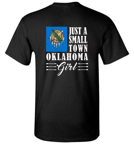 Small Town Girl Ok (Design on Back) - Tee