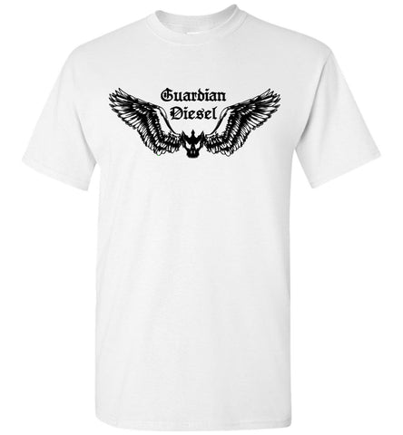 GUARDIAN DIESEL (DESIGN ON FRT) - BLK - TEE