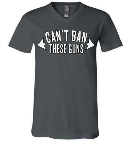 Can't Ban These Guns - V-Neck