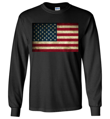 Dark Edge Flag - Long Sleeve