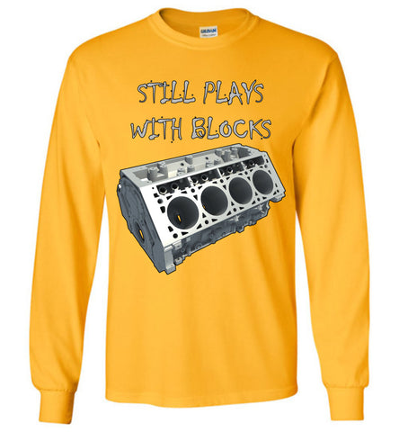 Still Plays with Blocks - Long Sleeve