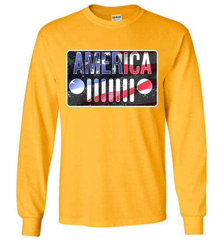 Jeep America - Long Sleeve