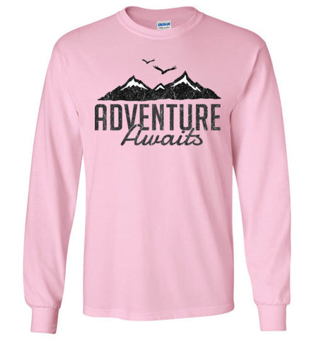 Adventure Awaits - Long Sleeve