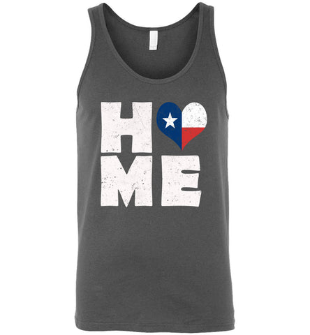 HOME TX FLAG (DESIGN ON FRONT) - Tank